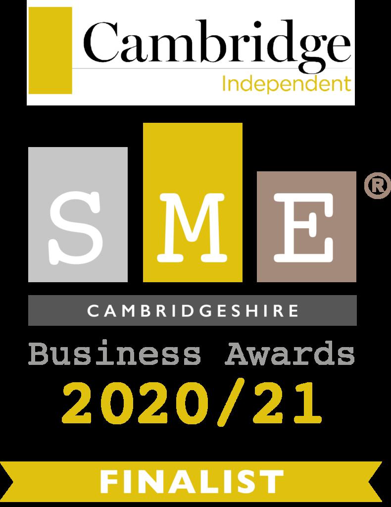 SME Cambridgeshire Business Awards 20-21 Finalist